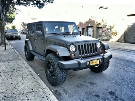 jeep matte grey matte grey jeep cars pinterest