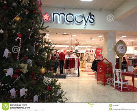 macys christmas sale editorial photography image