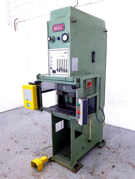 ton  frame hydraulic vertical press  sick light