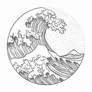Best Wave Drawing Ideas And Images On Bing Find What You Ll Love