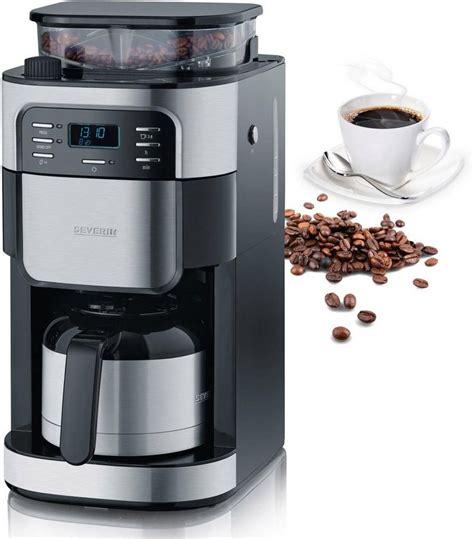 gastroback kaffeemaschine mit mahlwerk severin kaffeemaschine mit mahlwerk ka 4812 permanentfilter 1x4 edelstahl thermokanne