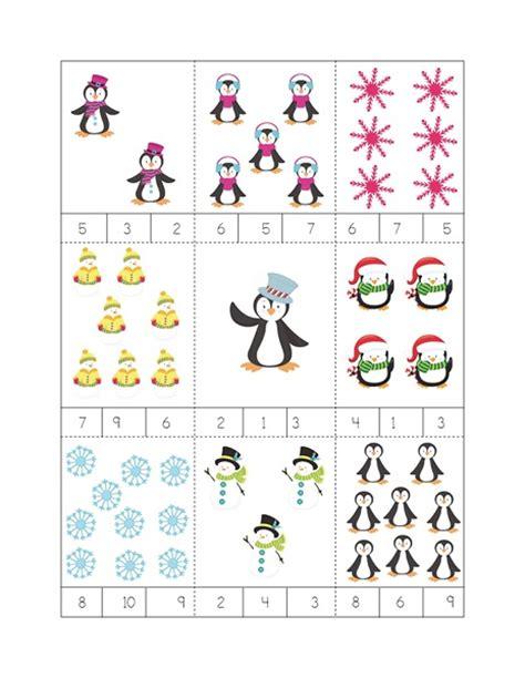 winter math activities 171 preschool and homeschool 701 | winter math activities
