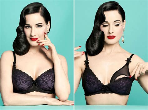 Dita Von Teese Made The Sexiest Maternity Bras Ever Brit