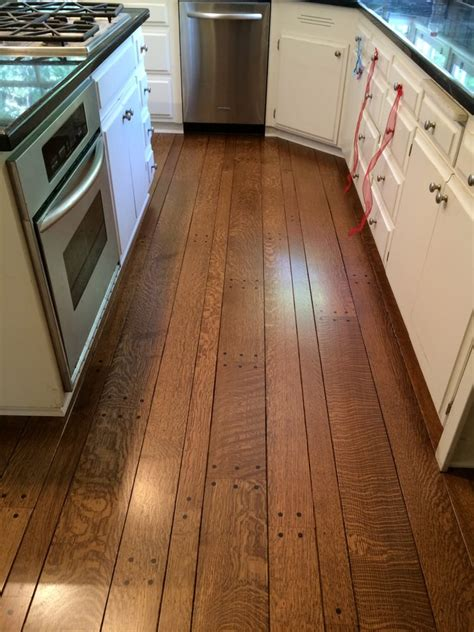 flooring concepts sand refinish rift quarter sawn red oak with provincial stain and satin finish yelp