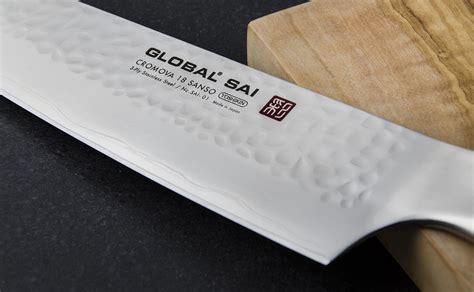 japonais cuisine couteau de cuisine japonais 19 cm global sai 01 global
