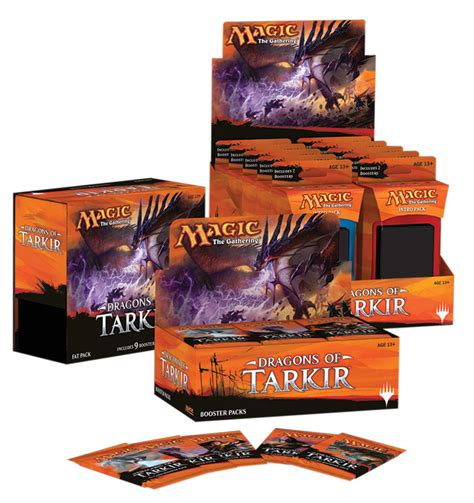 Standard Deck Mtg Dragons Of Tarkir by Dragons Of Tarkir Packaging Magic The Gathering