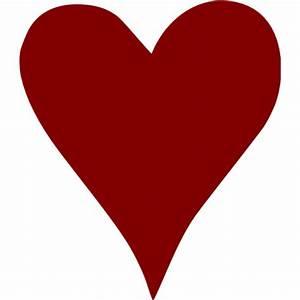 Maroon Heart 43 Icon
