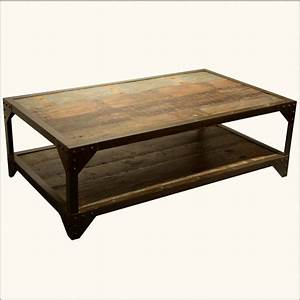 rustic reclaimed wood coffee tables glass coffee table With rustic wood and glass coffee table