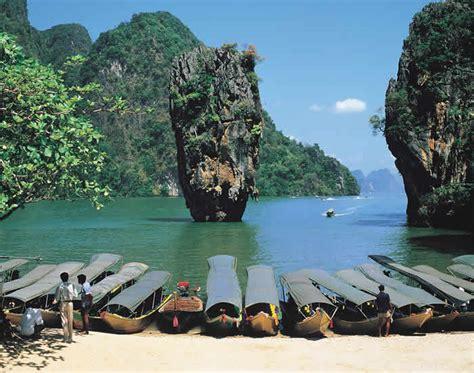 Ko Tapu James Bond Island In Thailand Amazing Of