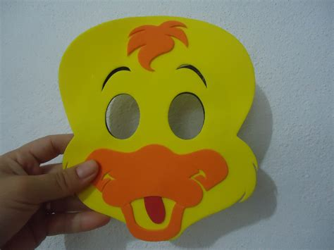 como hacer mascaras de patos m 225 scara de pato sapeca ba 250 da imagina 231 227 o elo7