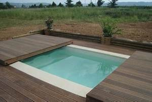 Bois Pour Terrasse Piscine : poolabri abri piscine terrasse plat bois ~ Edinachiropracticcenter.com Idées de Décoration