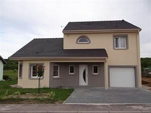 photos de facades With maison crepis blanc et gris