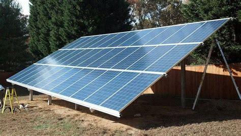 ground mount panels los angeles california home solar