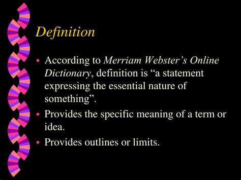 Webster S Dictionary Resume Definition by Ppt Rhetorical Modes Using Appropriate Strategies In Various Writing Situations Powerpoint