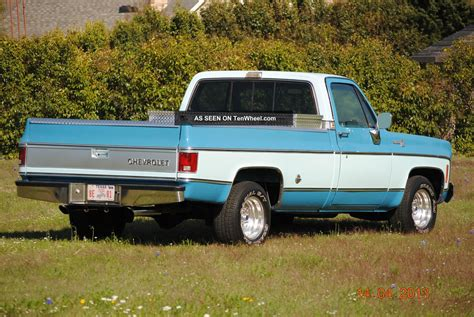 1978 Chevrolet Truck by 1978 Chevy Silverado Wide Bed V8 Rust Truck