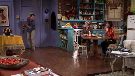 Why Monica's apartment on Friends was eclectic style goals