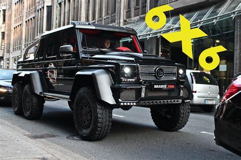 Mercedes G Wagon 6x6 Brabus