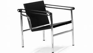 Sedia basculante lc1 le corbusier poltroncina for Le corbusier sedie