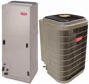 2 Ton 18 Seer Bryant Evolution Heat Pump Split System