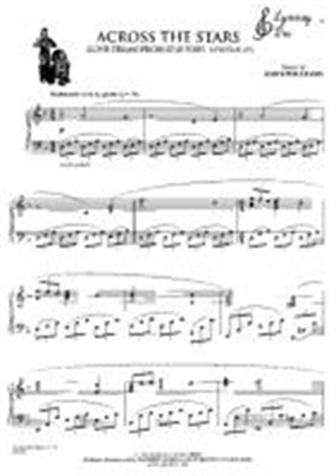 star wars across the stars free downloadable sheet music