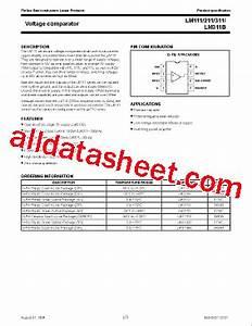 lm311 datasheetpdf nxp semiconductors With lm311 datasheet