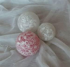 Dekokugeln Selber Machen : leuchtkugeln mit rosenmotiven dekokugeln von bastelkiste auf leuchtkugeln ~ Watch28wear.com Haus und Dekorationen