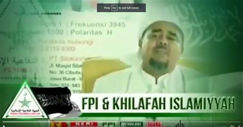 Ceramah habib rieziq tentang suku dayak madura dan fpi. Ceramah Habib Riziq Tegaskan Misi FPI Dirikan Khilafah Lewat 10 Langkah