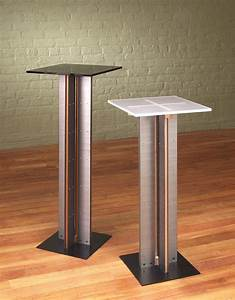 Modern Pedestal Plant Stand Bamboo Display Stand