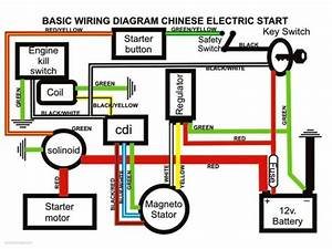 Wiring Diagram For Chinese 110cc Atv  U2013 Readingrat Net
