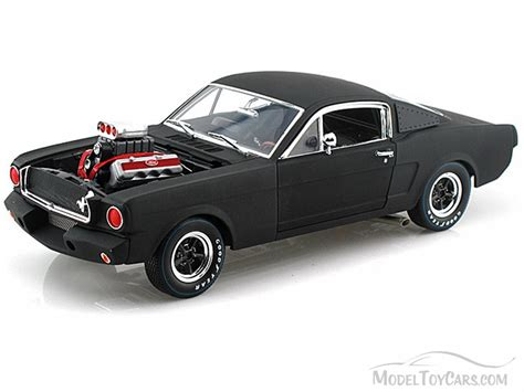 Model Cars by 1965 Shelby Gt 350r Black Shelby Sc178 Mbk 1 18 Scale