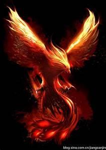 Phoenix.... es un enorme pájaro envuelto en llamas. Se ...