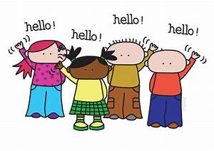 Say Hello! Clipart - Cliparts and Others Art Inspiration