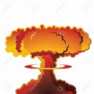 H-bomb clipart nuke - Pencil and in color h-bomb clipart nuke