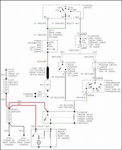 Need Wiring Diagram For Start System On F250 Super Duty