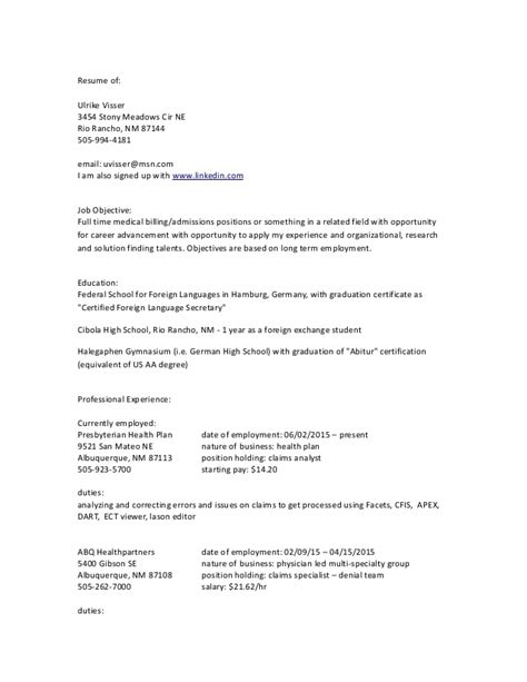 My Resume Sign In by My Resume In Word Format Updtd 06 13 15