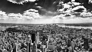 New York Wallpaper Black and White