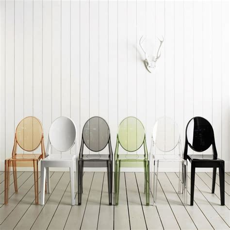 chaise ghost starck kartell louis ghost chair product design