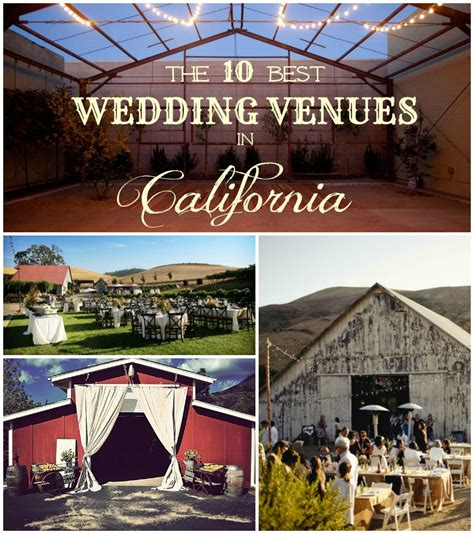 rustic wedding venues  california rustic