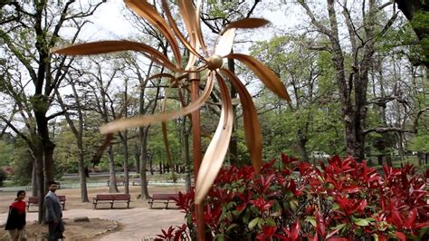 Full Copper Outdoor Artistic Kinetic