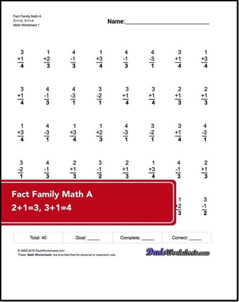 grade math worksheets core addition subtraction