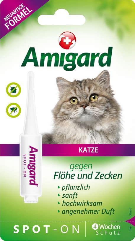 amigard spot  katze einzelpackung fuer ihre katze