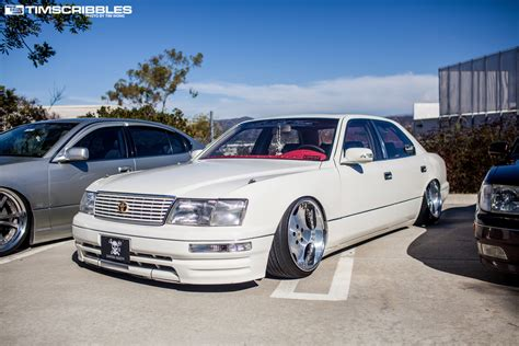 bagged ls400 theme tuesdays ucf10 ucf20 lexus ls400s stance is