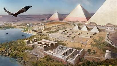 Pyramids Pyramid Origins Creed Assassin Giza Khufu