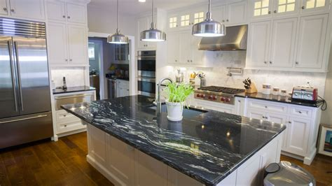 cool kitchen countertops black granite countertops a daring touch of