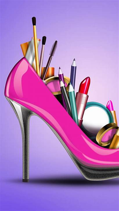 Girly Desktop Pink Wallpapers Galaxy Cosmetics Creative