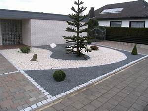 Vorgarten Kies Modern : vorgarten mit hellem und dunklem splitt fertig ~ Eleganceandgraceweddings.com Haus und Dekorationen