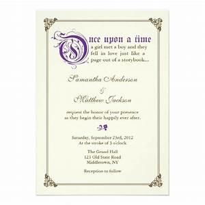 1000 ideas about fairytale wedding invitations on With purple disney wedding invitations