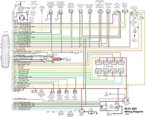 92 Mustang Eec Wiring Diagram eec wiring diagram ford truck enthusiasts forums