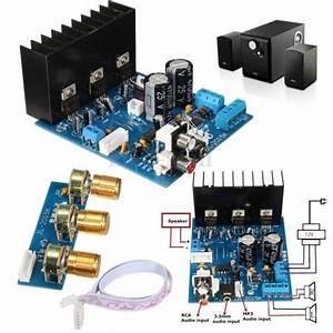 2x18w 2 1 Channel Subwoofer Tda2030a Module Mould Stereo Audio Amplifier Board For Sale Online