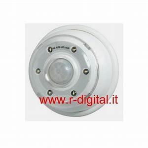 Lampe Mit Sensor : mini led lampe batterie mit sensor pir infrarot ber bewegung d mmerig ebay ~ Watch28wear.com Haus und Dekorationen